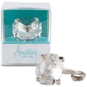 Accessories - Diamond Shape Key Ring